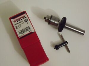 """Accupro drill chuck, with sensitive feed adapter, 1/64""""-5/32"""""""