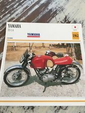Yamaha 250 TD1A 1962 TD1 A Carte moto Collection Atlas Japon