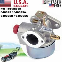 Carburetor Kit For Tecumseh 640025 Go Kart 5 6 6.5HP OHV HOR Engine Parts Carb