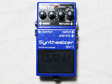 Used Boss SY-1 Synthesizer Guitar Effects Pedal
