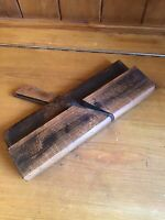 Antique Vintage Wooden Moulding Plane - Rebate Plane - JOHN MOSELEY & SONS