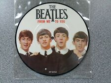 """THE BEATLES - FROM ME TO YOU / THANK YOU GIRL - 7"""" VINYL PICTURE DISC - EX"""