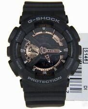 Imported Casio Men's GA110GB G-Shock Black Gold Dial Matt Sports Watch Gift