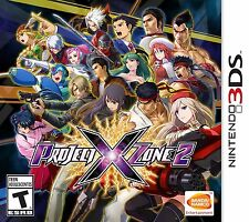 NEW Project X Zone 2 (Nintendo 3DS, 2015)