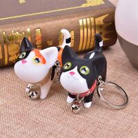 Creative Cartoon Dolls Cat Key Ring Holder Car KeyChain Bag Handbag Trin Nd