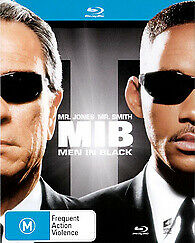 MEN IN BLACK BLU RAY - NEW & SEALED WILL SMITH, TOMMY LEE JONES FREE POST