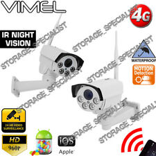 Home Security Camera 4G Wireless Construction Farm Holiday House 3G DIY GSM