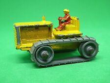 Matchbox Lesney No.8a Caterpillar Tractor (RARER RED DRIVER)