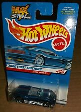 Hot Wheels 2000 #080 First Editions #20 of 36 Max Steel MX48 Turbo Blue PR5s