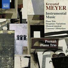 KRZYSZTOF MEYER: INSTRUMENTAL MUSIC NEW CD