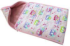 100% Naturale pura lana merino ~ Trapuntato coprire Baby Snuggler Sacco a Pelo Caldo