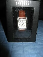 ECCLISSI STERLING SILVER LADIES WRISTWATCH IN ORIGINAL BOX GENTLY USED CONDITION