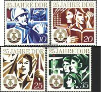 DDR 1949-1952 (kompl.Ausgabe) postfrisch 1974 25 Jahre DDR