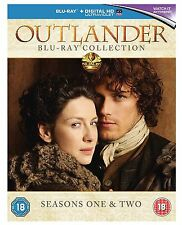 Outlander Complete Series 1-2 Blu Ray All Episode 1 and 2 Season Original UK Rel