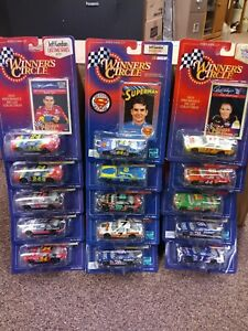 1997/1998 lot of 15 Winners Circle 1:64 scale Nascar