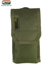 COYOTE TACTICAL PHONE POUCH SLEEVE BRITISH ARMY WEBBING PHONE MOLLE MILITARY