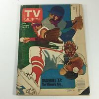 VTG TV Guide Magazines April 9-15 1977 Vol. 25 #15 - Baseball 1977 / Newsstand