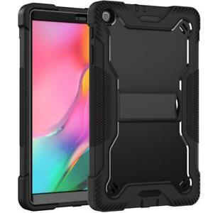 For Samsung Galaxy Tab A 8.0 2019 T290 / T295 Heavy Duty Military Kickstand Case