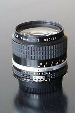 Nikon Nikkor 35mm f2.0 AIS Lens