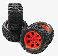 Rc Truck Wheels & Tires for Redcat Blackout Volcano TR-MT10E Caldera Terremoto