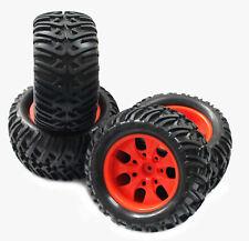 Rc Truck Wheels & Tires for Redcat Blackout Volcano TR-MT10E Caldera Terremoto