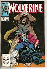 Marvel Comics Wolverine #6 April 1989 Roughhouse & Bloodsport NM-