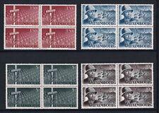 Luxembourg 1947 General Patton Block 4  MNH