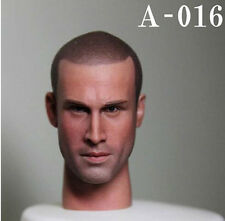 """1:6 Scale A16 Male Man Head Sculpt For 12"""" Hot ZY Toys Phicen Action Figure"""