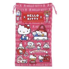 Hello Kitty Drawstring Cleaning Pouch iPhone Sunglasses Makeup Pen Holder Case