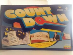 Countdown Board Game Spear's Games Complete Vintage 1997 VGC Ages 10+ 2-6 play