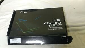 Ugee M708 Drawing Tablet,8192 Level 10x6 Graphics Tablet Battery-with Stylus pen