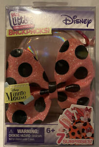 NEW Real LIttles Disney Mini Backpacks Minnie Mouse  7 Surprises