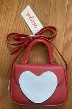 NEW Girls Cat & Jack Heart Purse Res