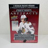 2020-21 Upper Deck Artifacts NHL Hockey BLASTER BOX Rookie RC/Jersey/Auto?! NEW