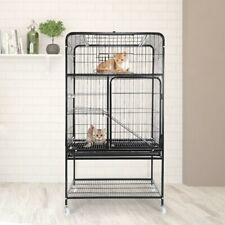 3-Tier Portable Large Home Fold Pet Animal Cage Playpen Cat Ferret Cage