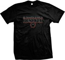 My Favorite Breed is Rescued- Shelter Perfect Shirt for Dog Lovers! Mens T-shirt