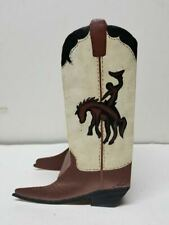 Mimi Old World Creations Hand Hammered Steel Western Boot Art Deco