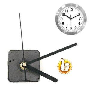 Silent DIY Clock Quartz Movement Mechanism Hands Replacement Part Kit Red Black