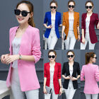 Stylish Women Ladies Business Suit Jacket Blazer Casual Slim Coat Outwear Tops