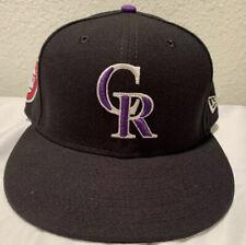 Ryan McMahon 2019 Game Used Colorado Rockies Memorial Day Hat