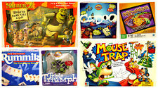 Lot of 6 Family Board Games Aggravation Mouse Trap Shrek 2 & More 100% Complete