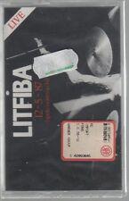 LITFIBA 12 - 5 -87 APRITE I VOSTRI OCCHI LIVE MC K7 MUSICASSETTA SIGILLATA!!!