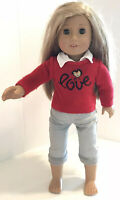 """American Girl Doll 18"""" Isabelle with Hairpiece"""