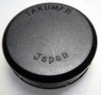 Pentax Takumar M42 42mm Rear Lens Cap screw in type (damaged - cracked)