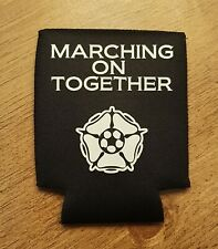 Leeds Utd Marching On Together Beer Can Cooler Sleeve