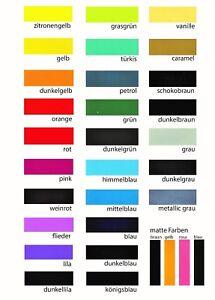 **** NEU 2 Bögen Vinylfolie Plotterfolie GrafiTack  DIN A4  Farbwahl  (m²/5,29€)