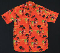 NWOT Baltimore Orioles Hawaiian Aloha SGA 2019 MLB Baseball Camp Mens Shirt M