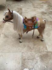 2010 Spinmaster Ltd. Liv Doll Jointed Palomino Horse Nutmeg Htf