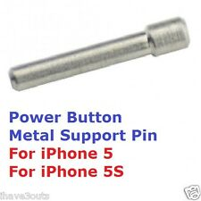 iPhone 5 5S Power Button On Off Switch Metal Support Pin Repair Replacement Part
