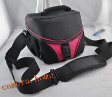 vecolo Camera Bag Case For Canon sx40 sx50 eos 550d 650d 60d 70d pink